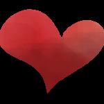 赤いハート