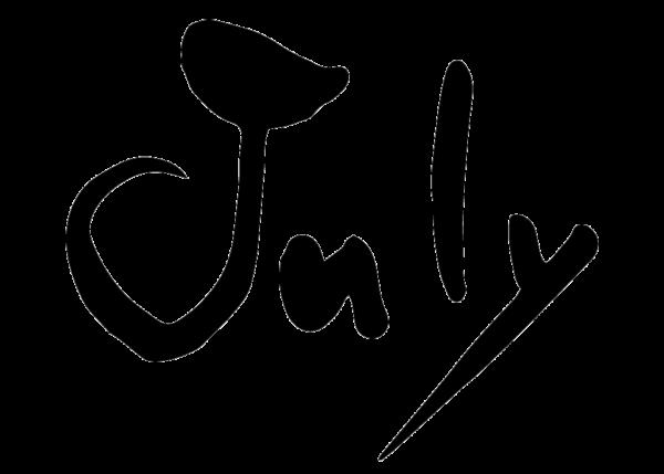 7月、July、Jul.、筆文字、カレンダー、月名、英語、Month