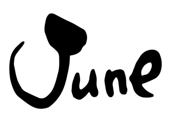 6月、June、Jun.筆文字、Month