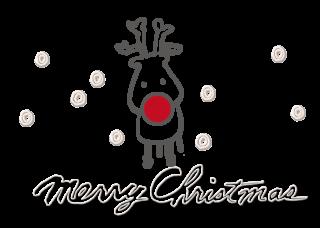 トナカイ Merry Christmas 2