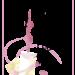 年賀状テンプレート(春2)花背景